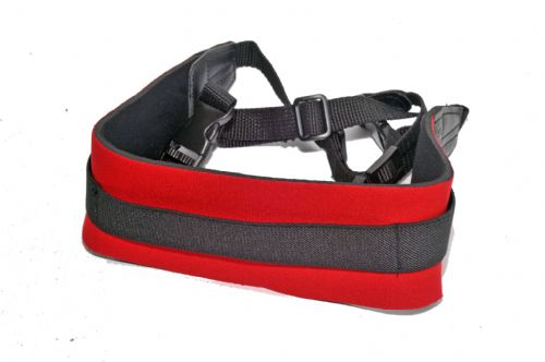 Kood Neoprene Red Comfort Strap  Weight Reducing Camera Strap